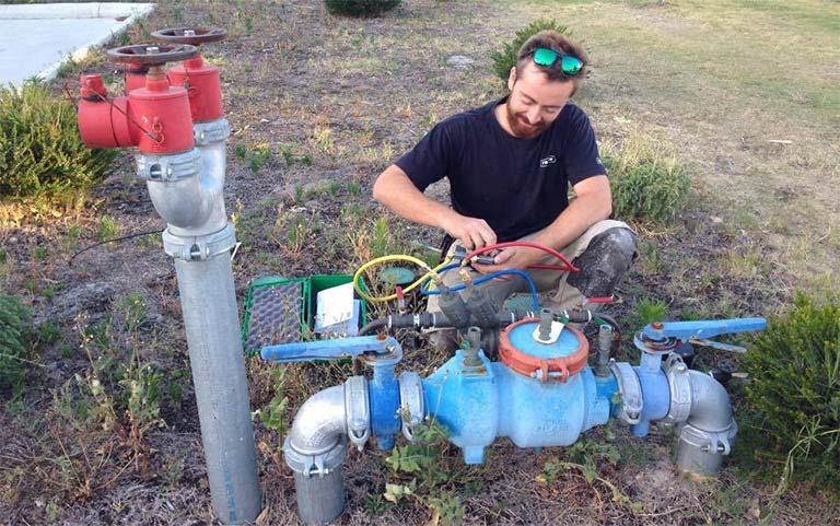 backflow valve testing